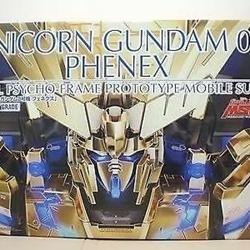 Picture of Gundam Perfect Grade - Unicorn Gundam 3rd Unit Phenex Bandai Premium Exclusive kit