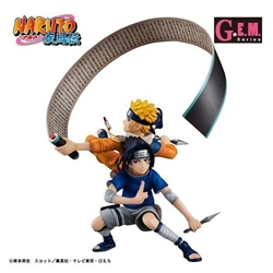 Picture of Megahouse G.E.M.Series remix Uzumaki Naruto  Uchiha Sasuke - Limited Edition Figure