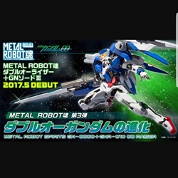 Picture of Metal Robot Damashi 00 Raiser  GN Sword III