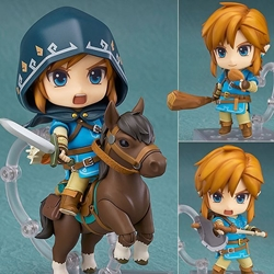 Picture of Nendoroid 733-DX - The Legend of Zelda: Link Breath of the Wild Ver. DX Edition
