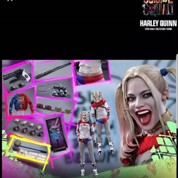Picture of Hot toys suicide squad harley quinn exclusive with extra parts