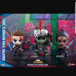 Picture of Hot toys cosbaby thor ragnarok 3 figurine set