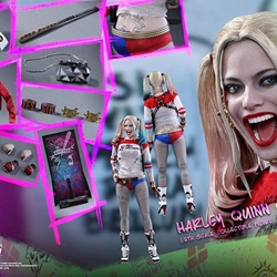 Picture of Hot toys suicide squad harley quinn normal version