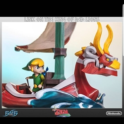 Picture of First 4 figures LINK ON THE KING OF RED LIONS (REGULAR)