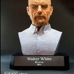Picture of Supercraft walter white life size bust