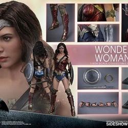 Picture of Hot toys batman vs superman - wonderwoman amazing action figure