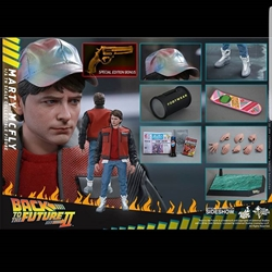 Picture of Hot toys exclusive Back to the future 2 marty With extra exclusive